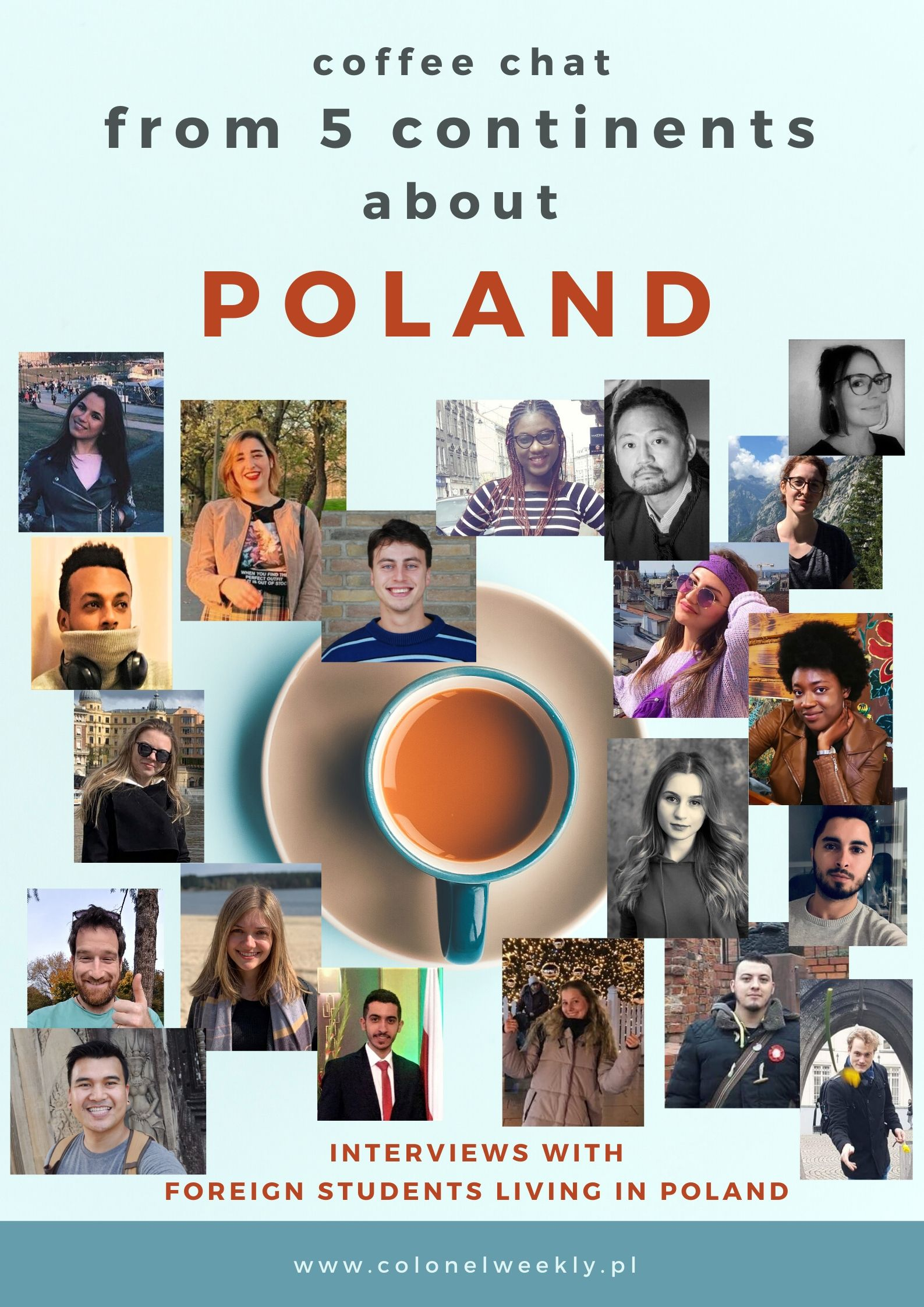 From five continents about Poland